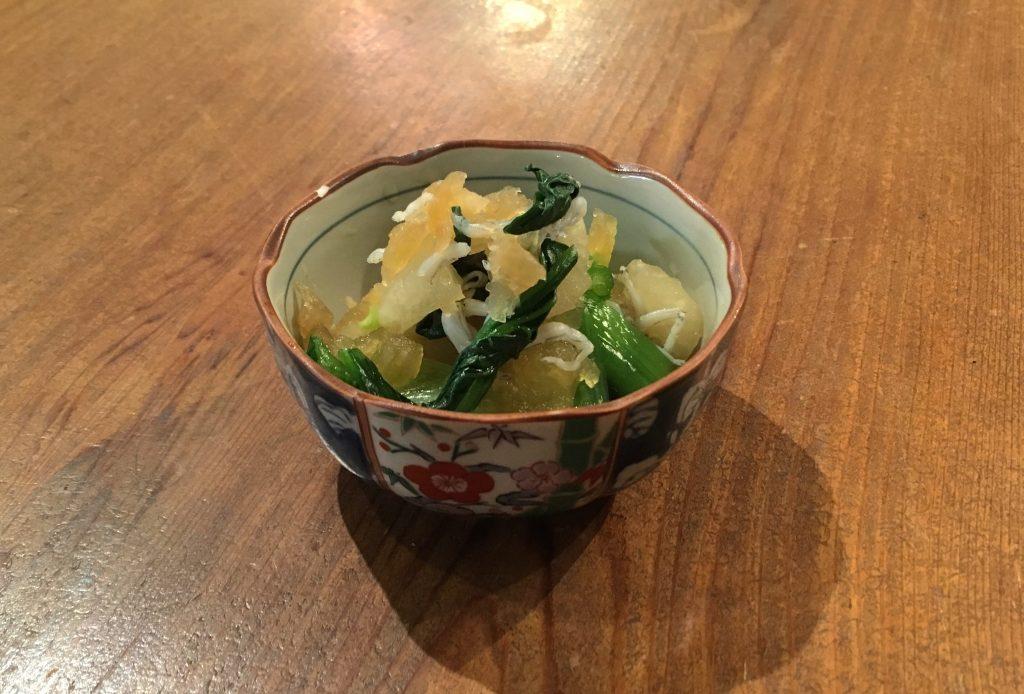 【おすすめレシピ】鬼おろしと小松菜のおひたし