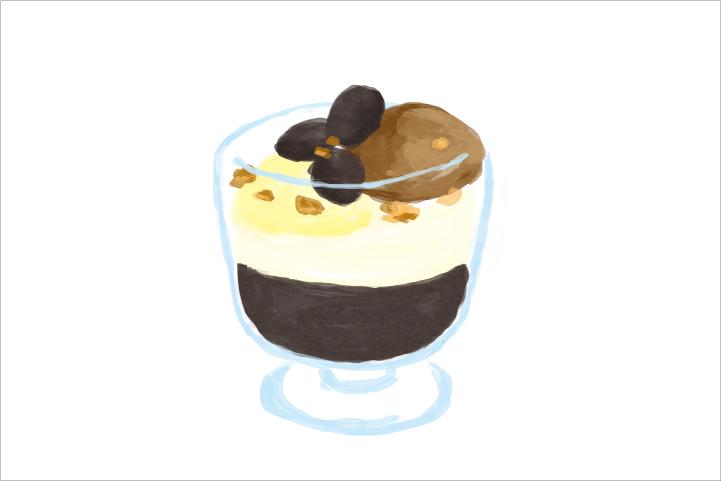 珈琲ゼリーパフェはじめました!