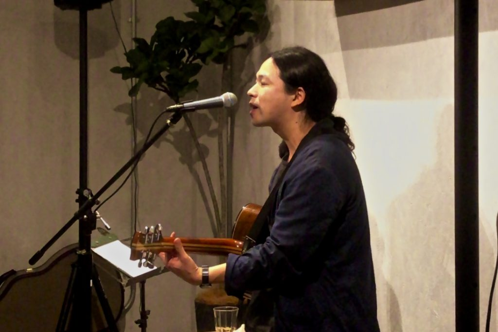 笹倉慎介さんのLiveを開催しました。